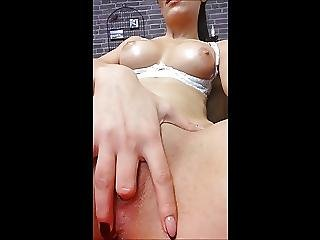 Cam Girl, Fingering, Masturbation, Strapon, Webcam