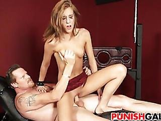 Cute Teen Molly Manson Gets Punished