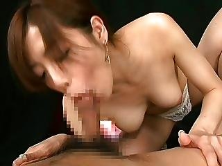 Japanese Girls Showing There Blowjob Skills