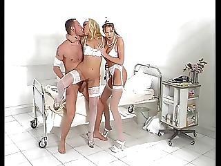 Anal, Engel, Blowjob, Klinikk, Gruppesex