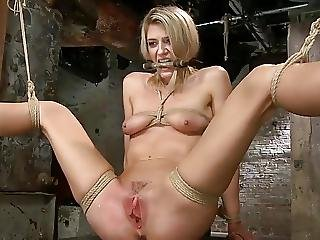 Slave Finally Gets To Cum In This One