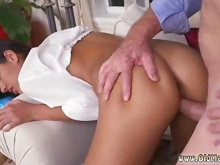 Old Man Sucks Young Hot Teen Swallows Cum Fucked Hard By Going South