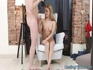 Casting Teen Creampied In Doggystyle Pose