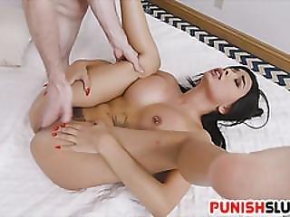 Arab Babe Aaliyah Hadid Gets Fucked Rough And Rugged