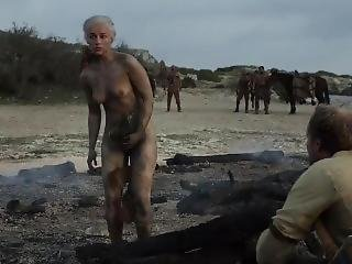 Emilia Clarke Naked Game Of Thrones S01e10