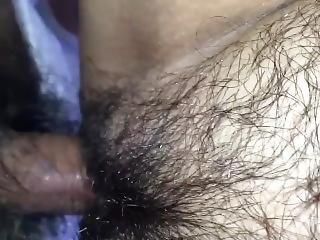 Doggy Cum From Underneath
