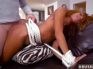 éjaculation, sale, première fois, hardcore, mature, belle, brusque, sexe, petits seins, solo, attachée