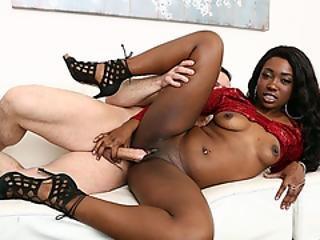 Slut Ebony Stepdaughter Seduced Her Loving Stepdad