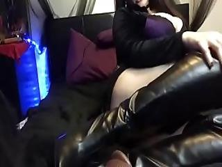 Coworker Introduces You To Leather Fetish Ass Worship And Your First Cbt Task