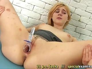 Medical Examination Sasha