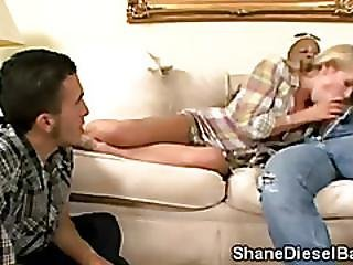 Perv Watches His Hot Wife Aiden Aspen Pleasing A Brotha