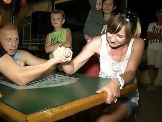Girls Arm Wrestling Tournament