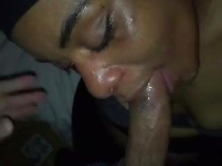 Ebony Blowjob