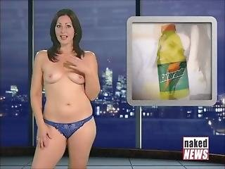 Victoria Sinclair Naked News Compilation