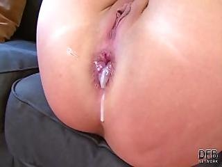 Anal Fuck For Big Cock Craving Babe Moaning And Having Orgasm Anal Creampie