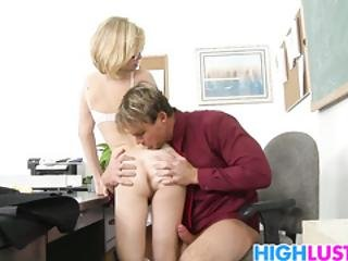 Horny Schoolgirl Penny Pax Shows Her Shaved Pussy