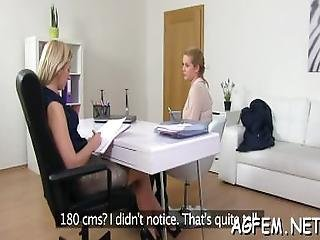 Arousing Pleasure For Female Agent