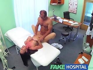 Fakehospital Saucy Sexy Patient Seeks And Seduces Doctors Cock