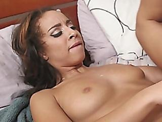 Teanna Trump Gets Pussy Stretched By Black Rod