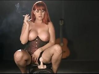 Amber Leigh - Smoking Sybian