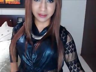 Hot Crossdresser Cum