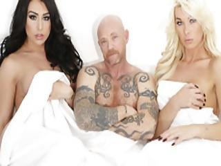 Trans Icon Buck Angel Fucks With Two Ts Babes