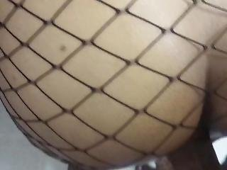 Quick Fuck Wearing My Fishnet Stockings
