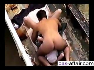 Date Her On Cheat-meet.com - Couple Sex At Beach In A Boat Watched An