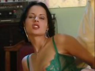 anal, stor cock, stort bryst, brunette, kneppe, ungarsk, sex, vild