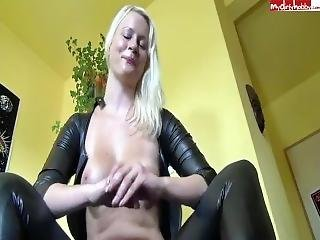 sztuka, blondynka, niemka, masturbacja