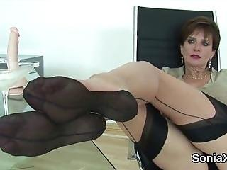 Buxom Bisexual Wife Lady Sonia Tickles Her Huge Puppies And Finger Fucks Spread Slit In Lingerie