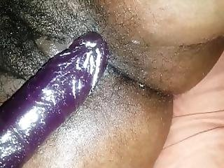 Big Ass Jiggles Play With Big Dildo Cream Pie