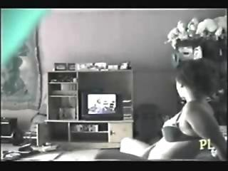 My Sister Rubbing Her Pussy Watching A Porno. Hidden Cam