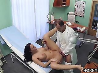 Amateur, Clinic, Czech, Doctor, European, Fucking, Hardcore, Hospital, Pornstar, Reality, Spit, Spy, Voyeur