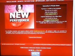 Tanya Webcam Goddess Fucks Dildo In Red Panties And Stockings