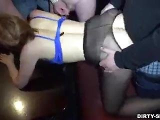 Amateur, Vreemd Gaan, Dronken, Gangbang, Milf, Feest, Ruw, Sex, Vrouw