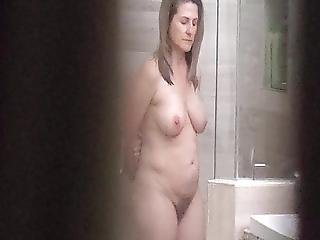 Soft Body Milf In The Shower