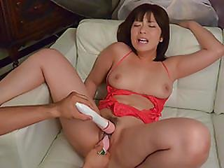Wakaba Onoue, Milf In Red Lingerie, Fucking Like Crazy