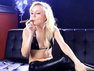Smoking Cigar 3
