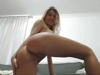 Hot Andrea Spreads Her Legs & Smacks Her Ass On Webcam Mfc