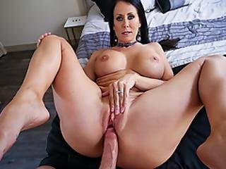 Reagans Milf Snatch Fucked By Rock Hard Cock From Behind
