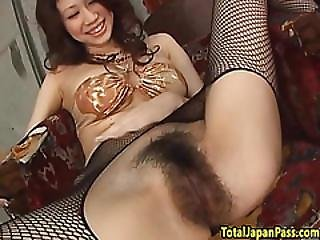 Bigtits Asian Babe Banged In Stockings