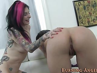 blowjob, fetiche, goth, handjob, duro, skank, tatoo, threesome