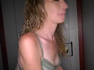 Nasty White Slut Does Bareback At Gloryhole