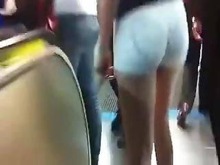 White Sexy Shorts Encoxanda