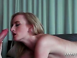 Amateur Tramp Fits Dick In Mouth And Cunt