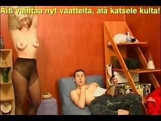 Slideshow With Finnish Captions: Mom Natalie 1