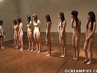 fou, poilue, chatte poilue, japonaise, nue, chatte, sport
