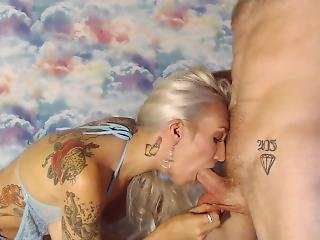 Kinkygoddesses Deepthroat Cumslut Fucking And Getting Cum Spit Facial Filth