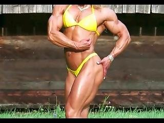 Fbb Flexing And Posing